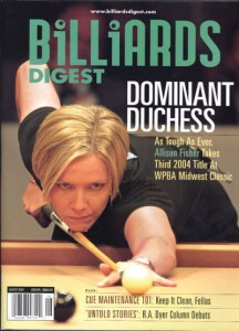 Billiards Digest Magazine Cover